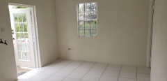Real Estate - Apt 1 07 Groves Cottage, Saint George, Barbados - Living & dining area